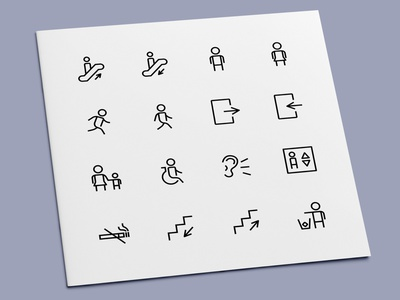 Public Sign Icons accessibility no smoking disabled door exit elevator public symbol signs sign icon set icon design icons icon