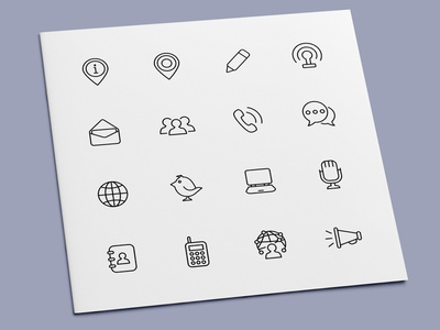 Communication Icons network media social contact social media communication icon set icon design icons icon