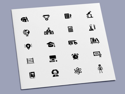 Education Icons class science university graduation school education icon set icon design icons icon