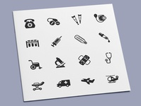 Medical Supplies & Equipment Icons