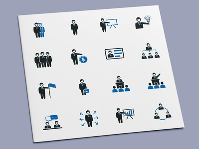 Business Administration Icons
