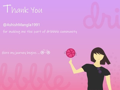 Thanks Dribbble - My First Post