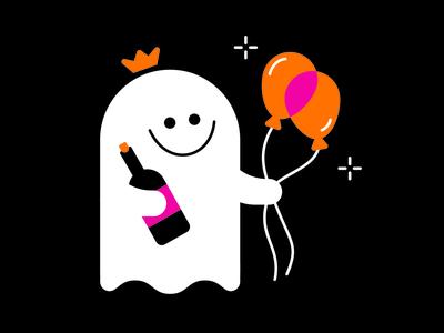 Birthday Ghost