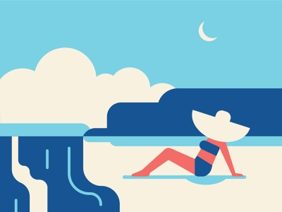 Beach Day illustration