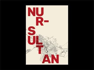Nur-Sultan citymap