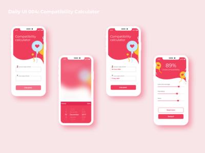 Daily UI 004 - Compatibility Calculator