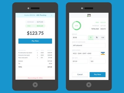 Mobile Invoice / Pay