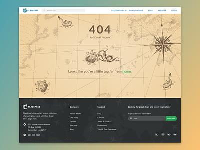 404 error lost 404 terra incognita illustration map
