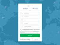 Register (Step 2) / PlacePass