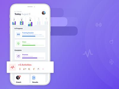 Dashboard / Ladder iphone smartphone dashboard user interface ux ios mobile ui