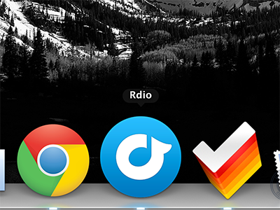 Rdio Replacement Icon rdio icon music player mac replacement icns round