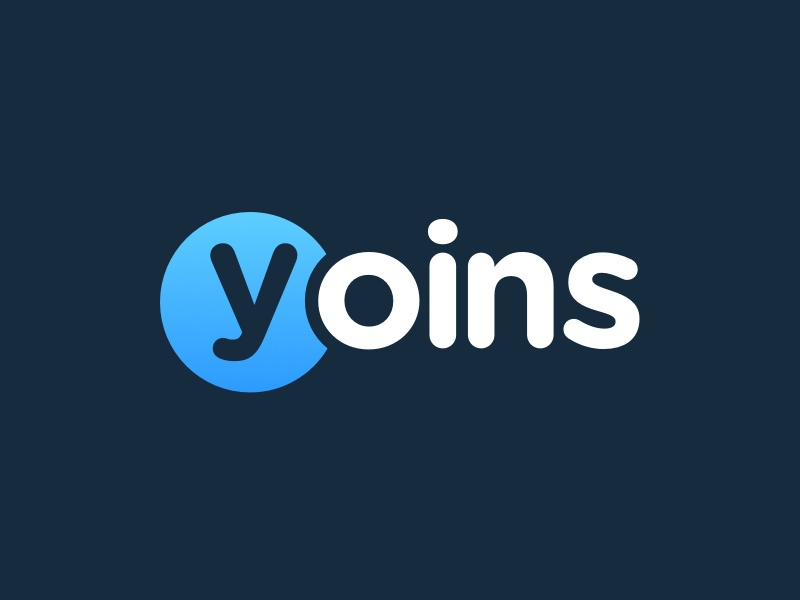 Logo Yoins logo branding corporate identity identity yoins bold