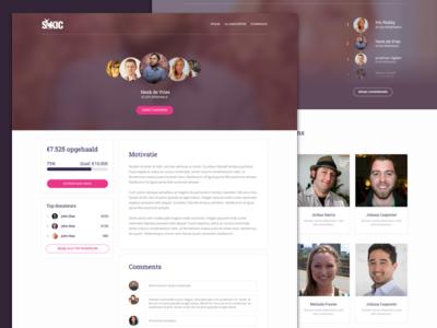 Website SKIC (WIP) - feedback welcome