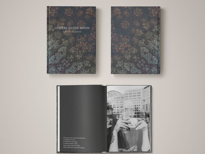 Letters to the Moon Publication teaser publication project poems poem photos photo book