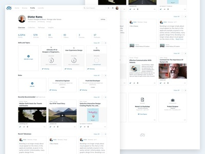 Degreed Profile Overview