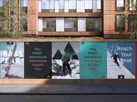 Brass Peak identity - Posters / Advertising