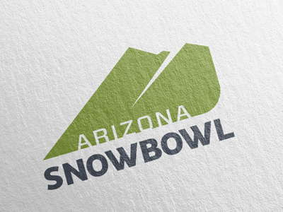 Snowbowl peaks rounded bowl slopes mountains