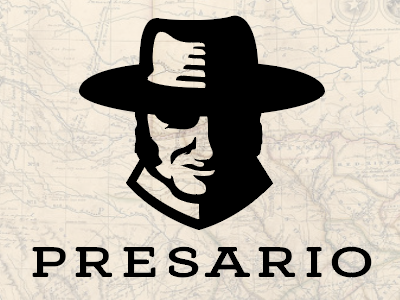 PRESARIO Ventures texas silhouette face illustration empresario moses austin