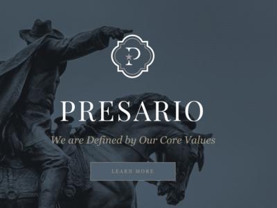 PRESARIO Website perseverance pride star cowboy blue gold investments grants settle land empresarios texas