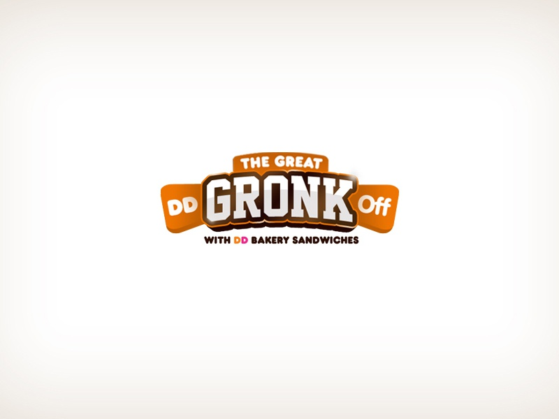 The Great Dd Gronk Off Sweepstakes Logo By Juan Carlos Sanchez On Dribbble