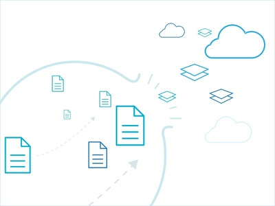 Tamr Graphics files data cloud icon clean simple