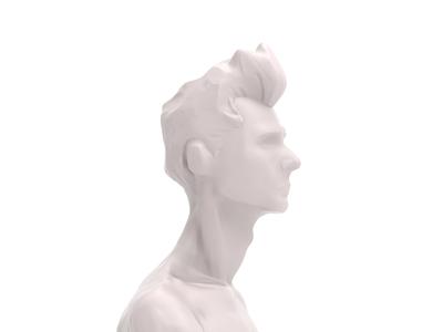 Savia zbrush 3d sculpt render model character 3d