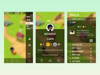 Battle Camp - UX/UI Concept