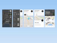 AR app Wireframes