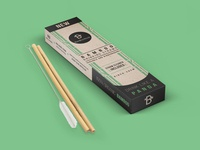 Bamboo Straws Packaging