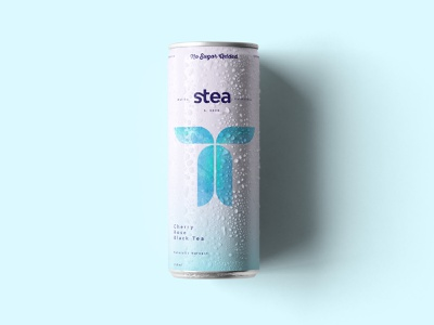 Cold Ice Tea Packaging female logo female designers femenine drink can illustration logo design packaging design branding brand identity packaging