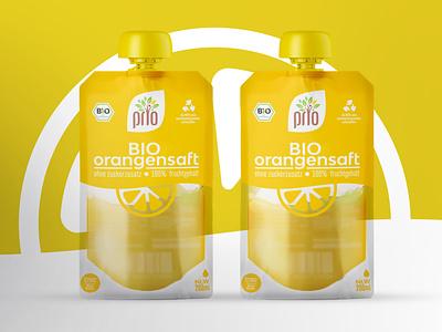 Organic Juice Packaging drink juice orange juice minimalist minimal illustration logo design packaging design branding brand identity packaging