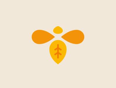 Bee Logo shopify vegan honey branding honeybee honey bee symbol icon illustration logo branding brand identity