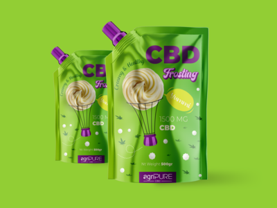 CBD Frosting Packaging
