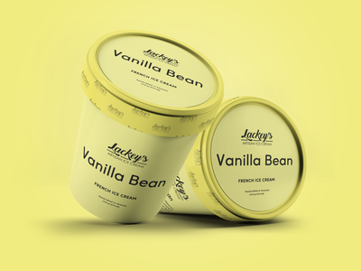 Vanilla Ice Cream Packaging