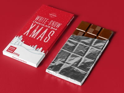 Christmas Chocolate Packaging