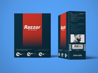 Razor Packaging Design