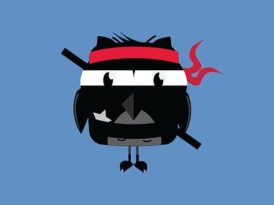 Ninja Sparkle illustrator illustration
