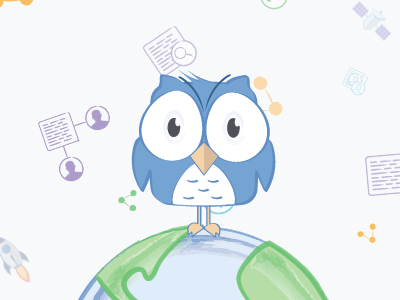 Data World website illustrator data.world