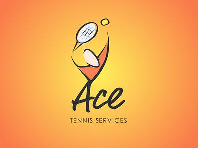 Tennis Logo sketch logo tennis