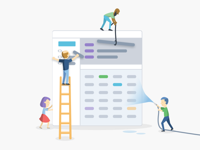 Combine and clean data data science data.world characters people illustration illustrator