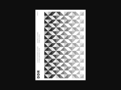 DDR minimalism swiss design art poster art design branding vector layout composition vintage swiss minimal poster design poster typography flat illustration lines abstract geometric
