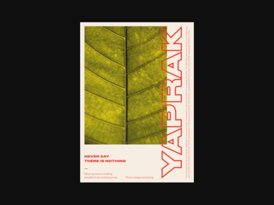 Yaprak vintage swiss design lines art minimalism minimal poster poster art swiss vector layout composition poster design typography design branding abstract geometric flat illustration