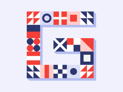 G pattern art pattern typo art typo typeface icon logo letter art branding lines minimal composition layout typography abstract design illustration geometric flat