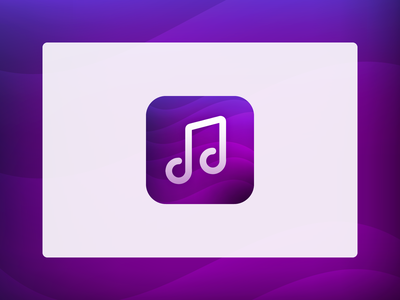 Music AppIcon creative logo creative design creative colourful app icon designers ios app icon android app icon logo icon icon design vector appicon app logo app icon logo app icon design app icon music art music logo music icon music