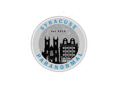 Logo Design for Syracuse Paranormal Group badge logo badges logos logodesign