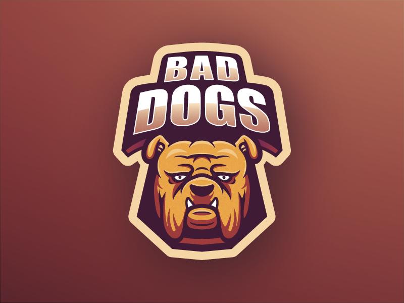 Bad Dogs esport mascot mascot logo mascot design illustration logo vector illustrator