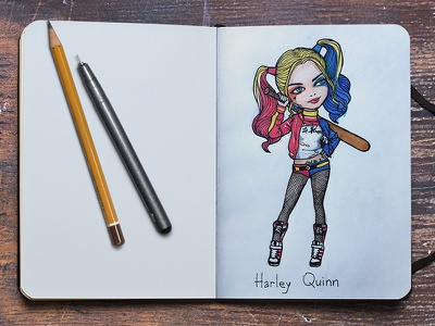 Harley Quinn harleyquinn margotrobbie comics suicidesquad squad suicide character harley quinn