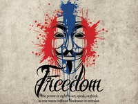 V Anonymous Freedom