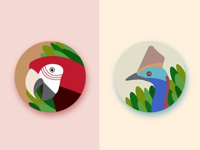 Australian icons#2 Birds