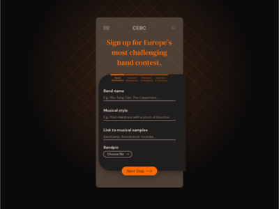 Daily UI #1 Sign-up